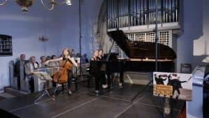 Tanja Tetzlaff und Gunilla Süssmann spielen u. a. die 3. Cello-Sonate von Beethoven, Foto: Karlheinz Krämer