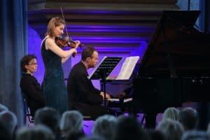 Anna Reszniak und Lars Vogt, Foto: Karlheinz Krämer