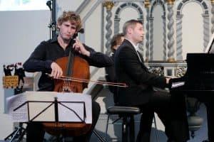 Andreas Brantelid mit Andreas Hering in Bargebur, Foto: Karlheinz Krämer