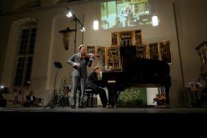 """Daniel Hope und Sebastian Knauer spielten vor 650 Gästen ihr Gezeitenkonzert """"YehudiMenuhin@100"""""""