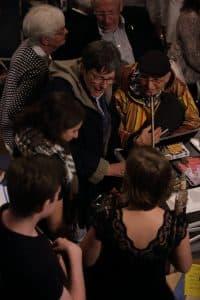 Publikum und Musiker im regen Austausch, Foto: Karlheinz Krämer