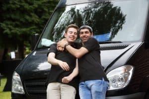 Hilko und Mohammed: eigentlich oft einer Meinung, auch wenn es hier gerade nicht so aussehen mag.