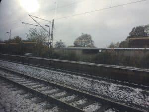 Witterungsbedingte Zugausfälle: Der Schnee kommt immer so plötzlich!