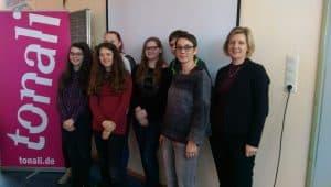 Die Schülermanager der Friesenschule Leer