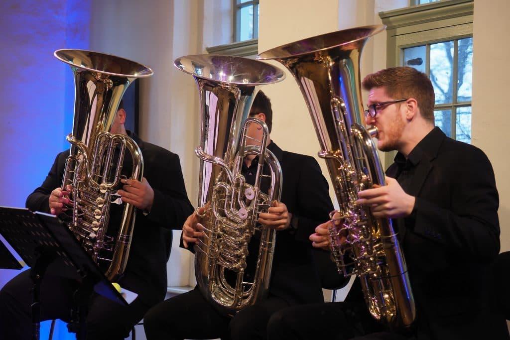 Trio 21meter60 beim Auftakt der Gezeitenkonzerte
