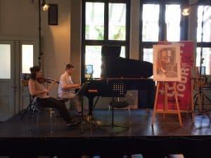 Proben von Elene Meipariani und Alexander Vorontsov fürs TONALi TOUR Triokonzert
