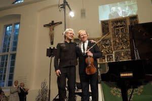 tolles Duo: Matthias Kirschnereit und Daniel Hope