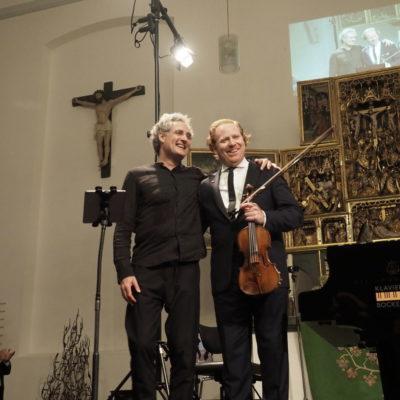 Daniel Hope & Matthias Kirschnereit (Foto: Karlheinz Krämer)