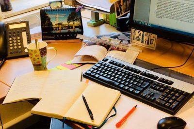 Schreibtisch Blog