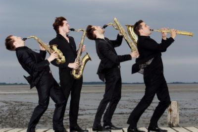 Gezeitenkonzerte Titelbild 2014: SIGNUM_Saxophonquartett Gezeitenkonzerte Titelbild 2014: SIGNUM Saxophonquartett (Foto: Karlheinz Krämer)